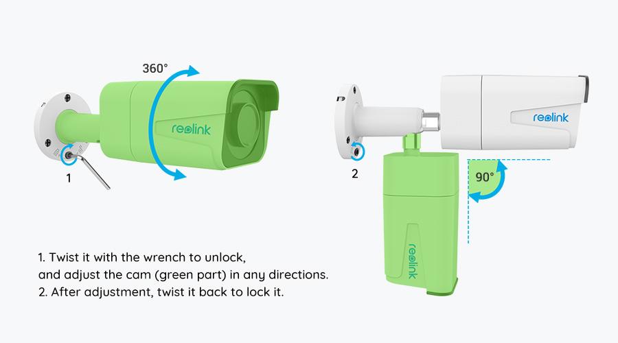 5MP PoE Outdoor Security Camera Installation