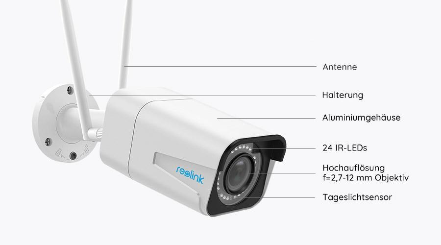 Reolink RLC-511W WLAN IP Kamera - Grafik