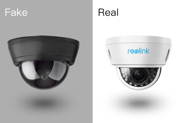 Fake Security Cameras vs Real Ones