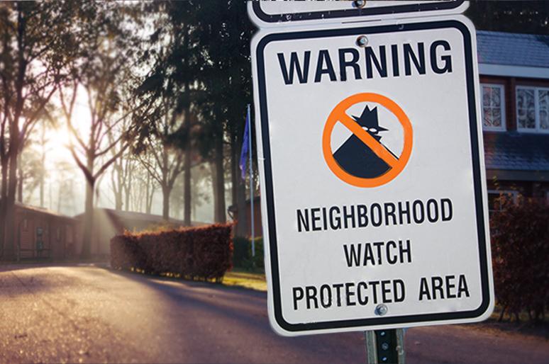 Start Neighborhood Watch Program