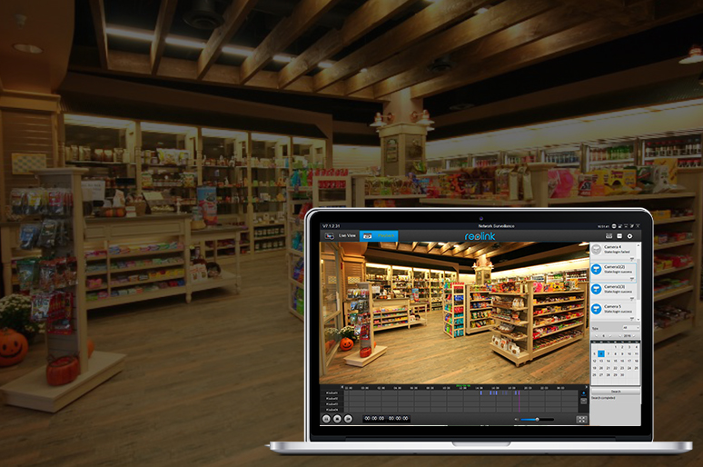 Retail Store Security Camera
