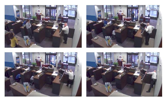 Illinois Bank Robbery Shootout