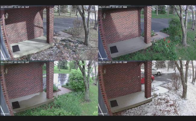 Reolink Captures 4 Seasons