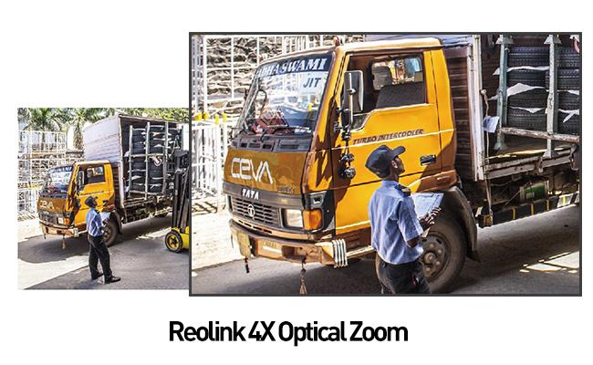 Impressive 4X Optical Zoom