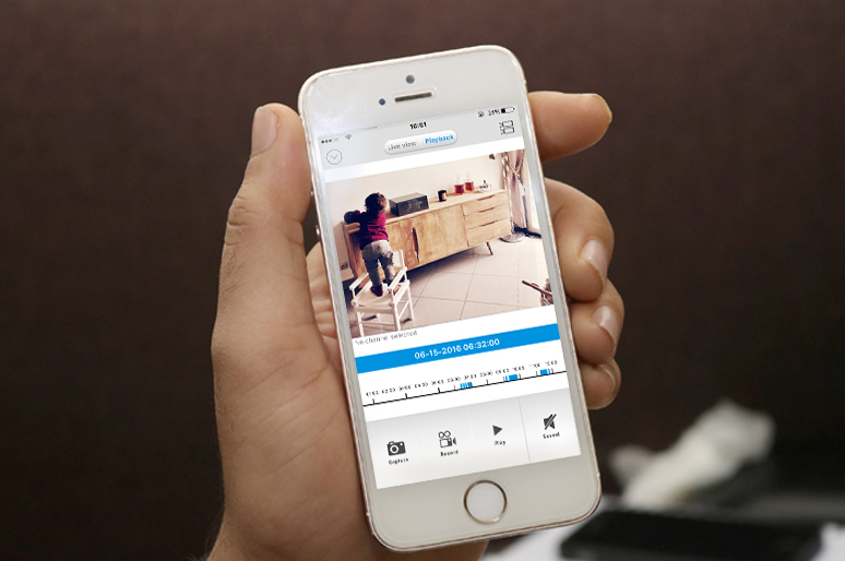 Battery Powered Security Camera App