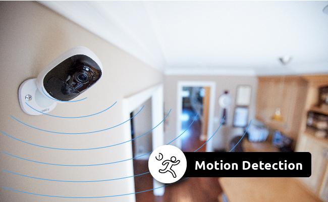 Haustürüberwachung mit Bewegungsmelder
