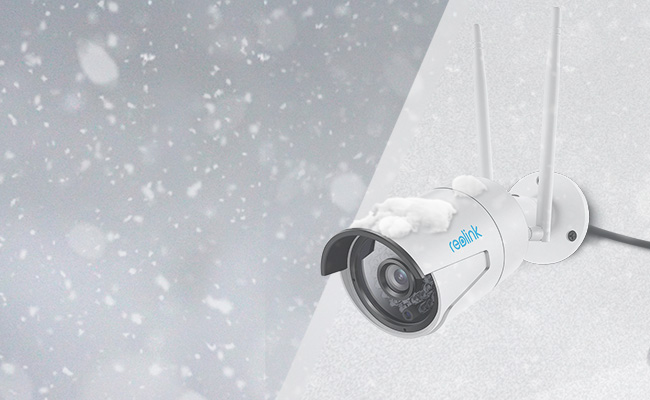 Security Camera in Extreme Weather