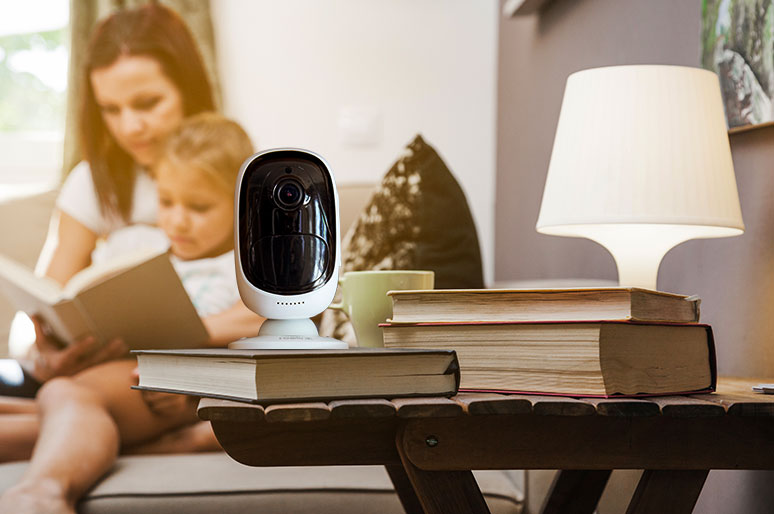 Battery Operated Indoor IP Camera