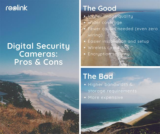 Digital Security Camera Pros Cons
