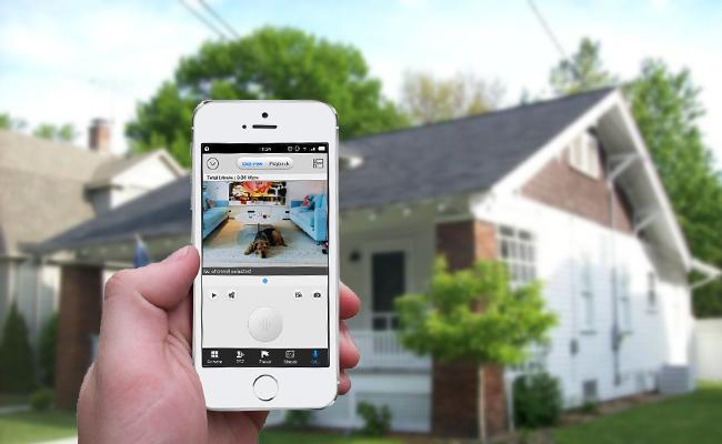Haustür Kamera mit Live-Ansicht