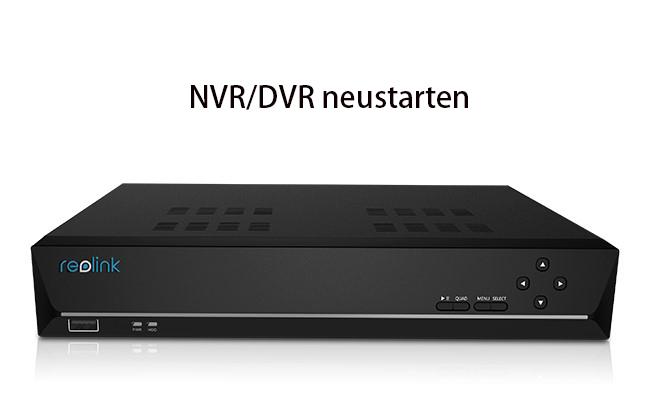 NVR Neustart