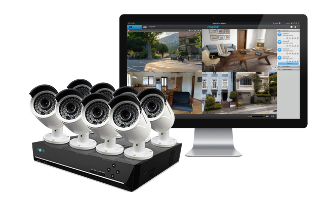 16 Channel PoE Security Camera System