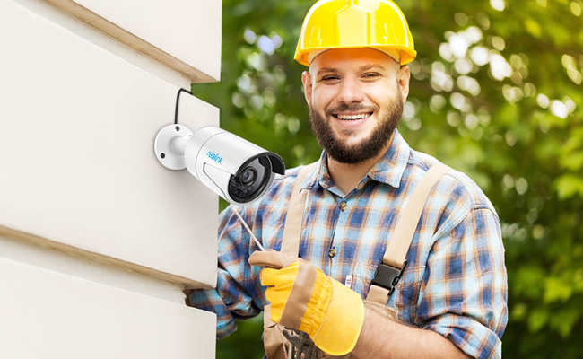 Install Wired Security Cameras