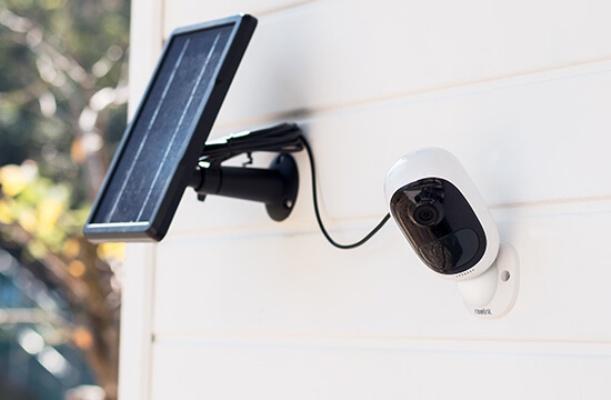 Haustür Kamera mit Akku und Solarpanel