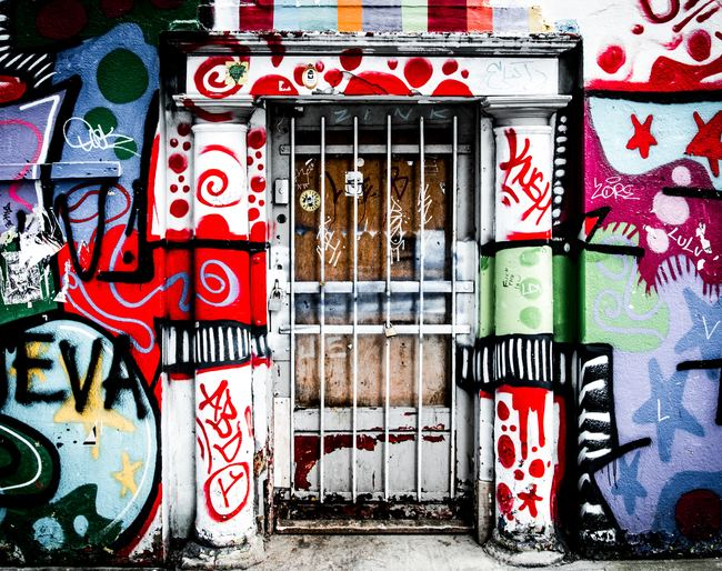 Excessive Graffiti