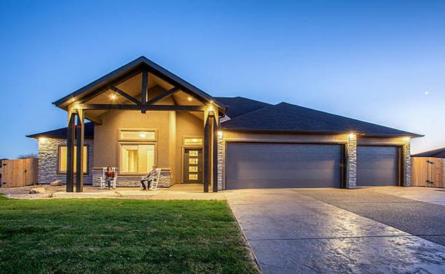 Haus mit Licht