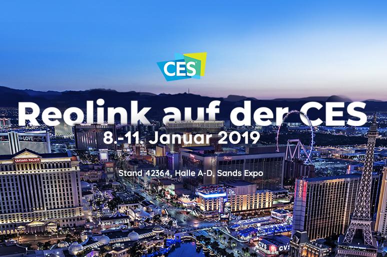 Reolink präsentiert kabellose Sicherheitskamera Neuheiten auf der CES 2019
