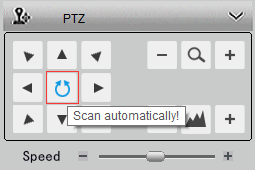 Operate Rotating Security Cameras in Automatic Scan Mode