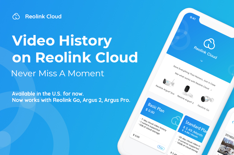 Reolink Cloud Subacription
