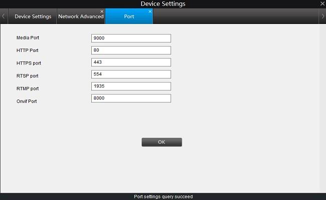port nummer neu zu konfigurieren