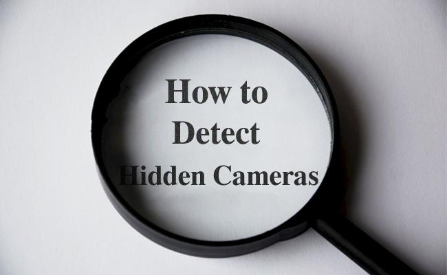 Versteckte Kameras finden