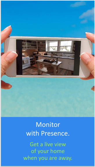 Presence iOS App for Home Security