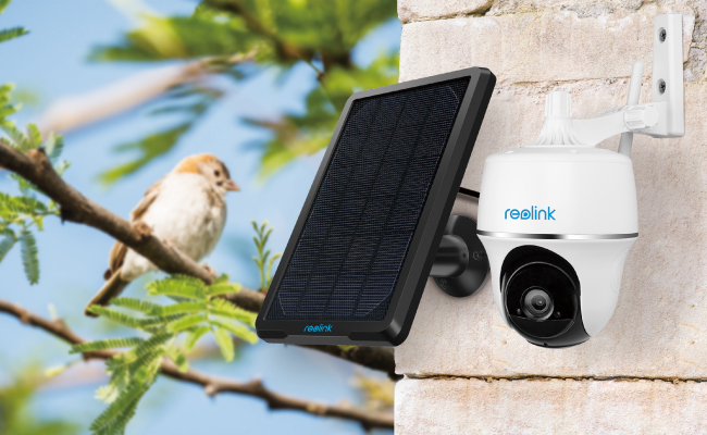 Reolink Go PT 100% Wire-Free 4G Pan Tilt Battery Camera