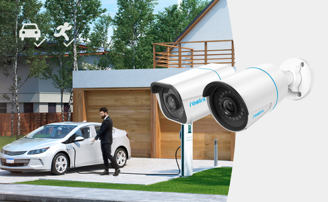 Reolink PoE IP Cameras with Person/Vehicle Detection