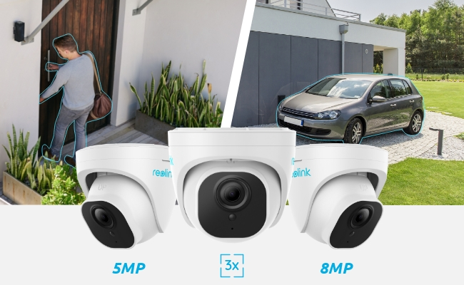 Reolink Smart Detection Dome IP Cameras
